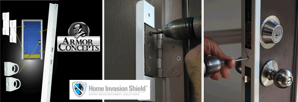 Door Jamb Armor u0026 Home Invasion Shield : armor door - Pezcame.Com